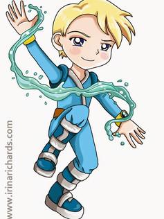 Character design - Water