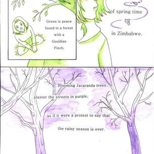 Lady Gouldian Finch 3