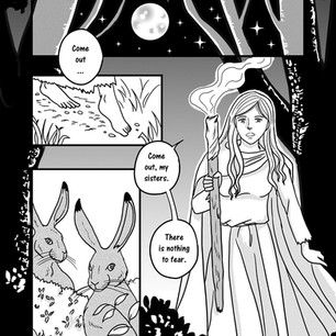 Melangell's Lambs page 14
