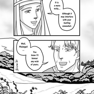 Melangell's Lambs page 20
