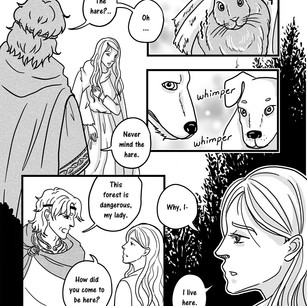 Melangell's Lambs page 6