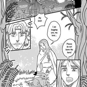 Melangell's Lambs page 5