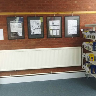 Exhibition at Newmarket Library