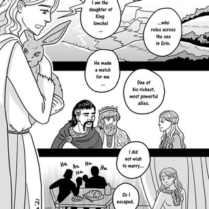 Melangell's Lambs page 8