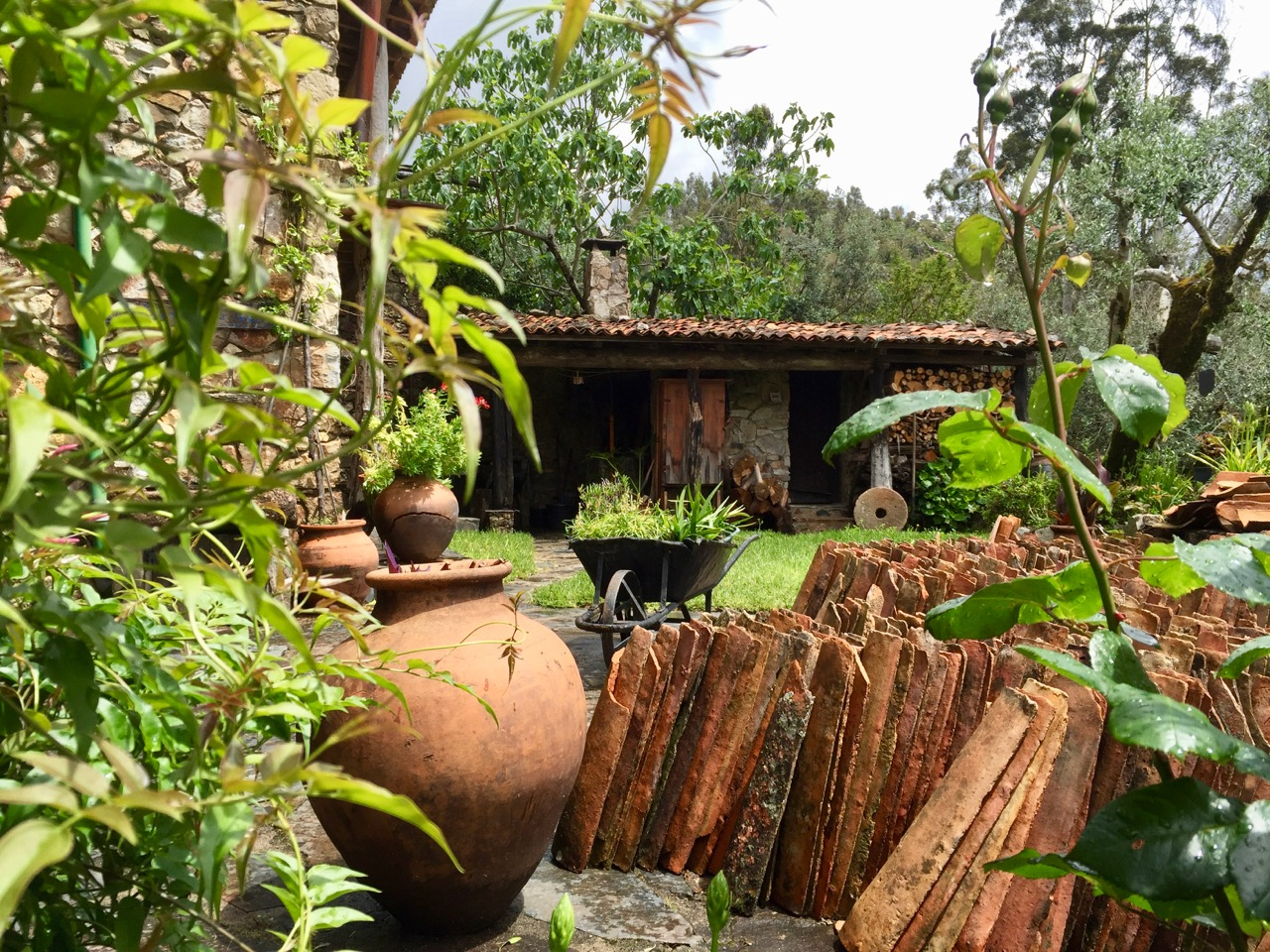 Sao Simao Schist Village