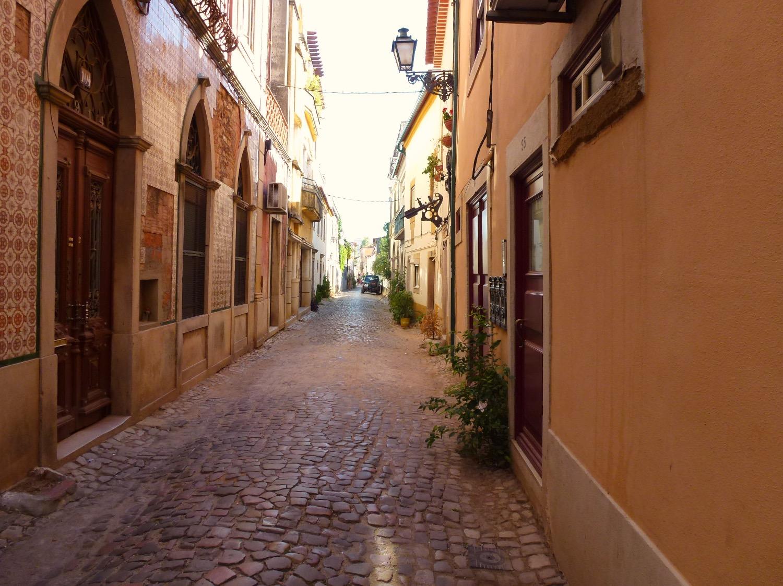 Tomar Cobbled Street