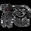 Thumbnail: LEATT 2021 DBX 5.5 Neck Brace (Black)