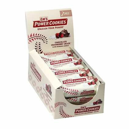 Ems Power Cookies Choc Cranberry Craze Bar