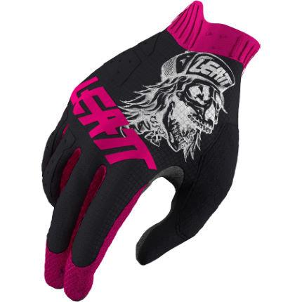 Leatt 1.0 GripR 80's Skull MTB Gloves