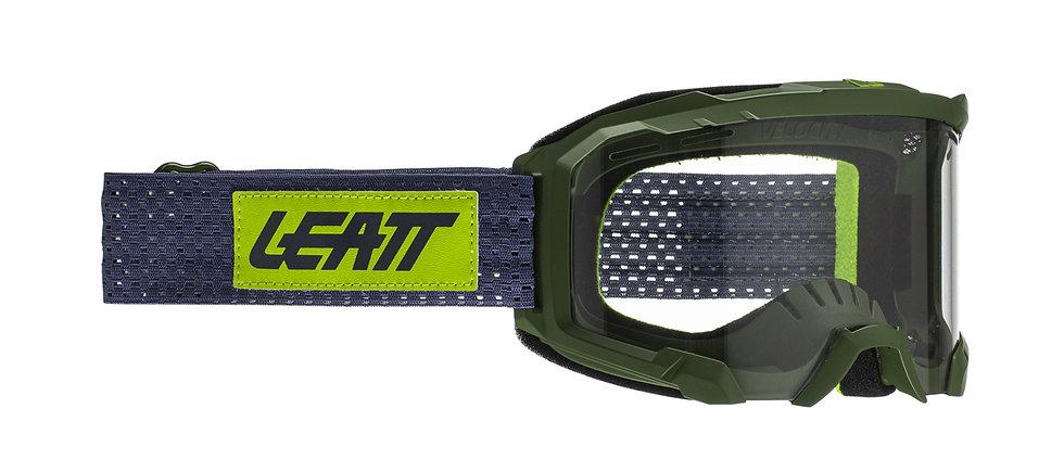 LEATT 2021 4.0 Velocity Goggle (Clear Lens) - Cactus