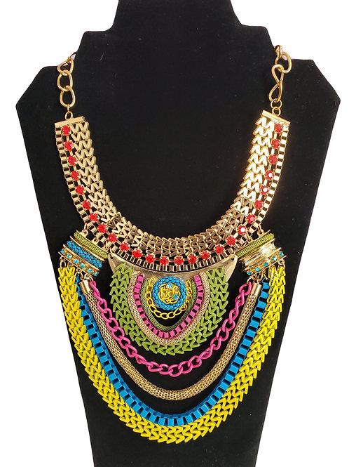 Mya Multi Statement Necklace