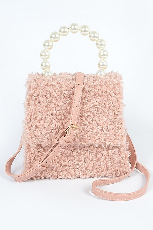 Pink Pearly Cute Bag