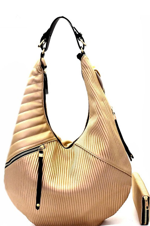 Ana 2 in 1 Quilted Hobo