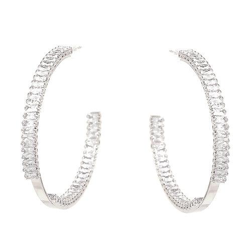 The Cut Hoop Earrings