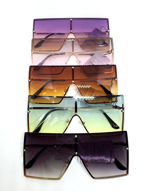 Chic Rimless Sunglasses
