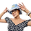 Thumbnail: Frayed Denim Bucket Hat