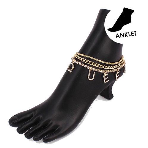Queen Ankle Bracelet