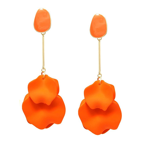Petal Cluster Drop Earrings