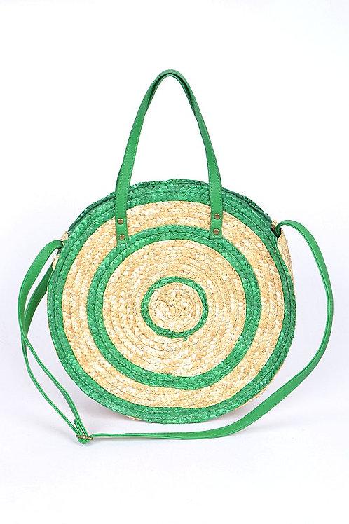 Spiral Straw Handbag