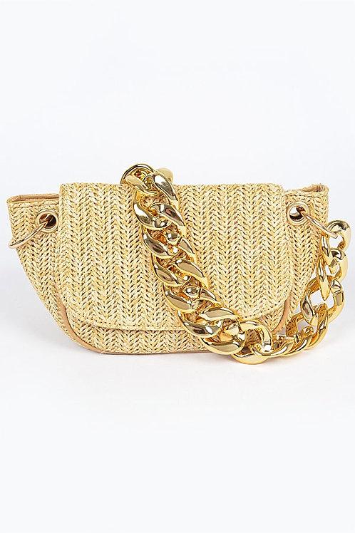 Ianthe Straw Handbag