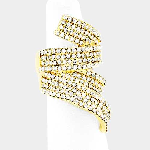 Entangled Pave Ring