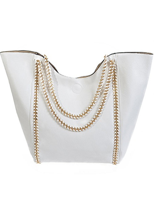 Chain-link Hand Tote