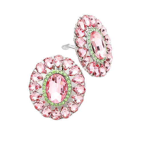 Oval Marquise Earrings