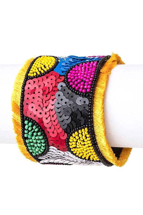Multicolor Sequence Cuff