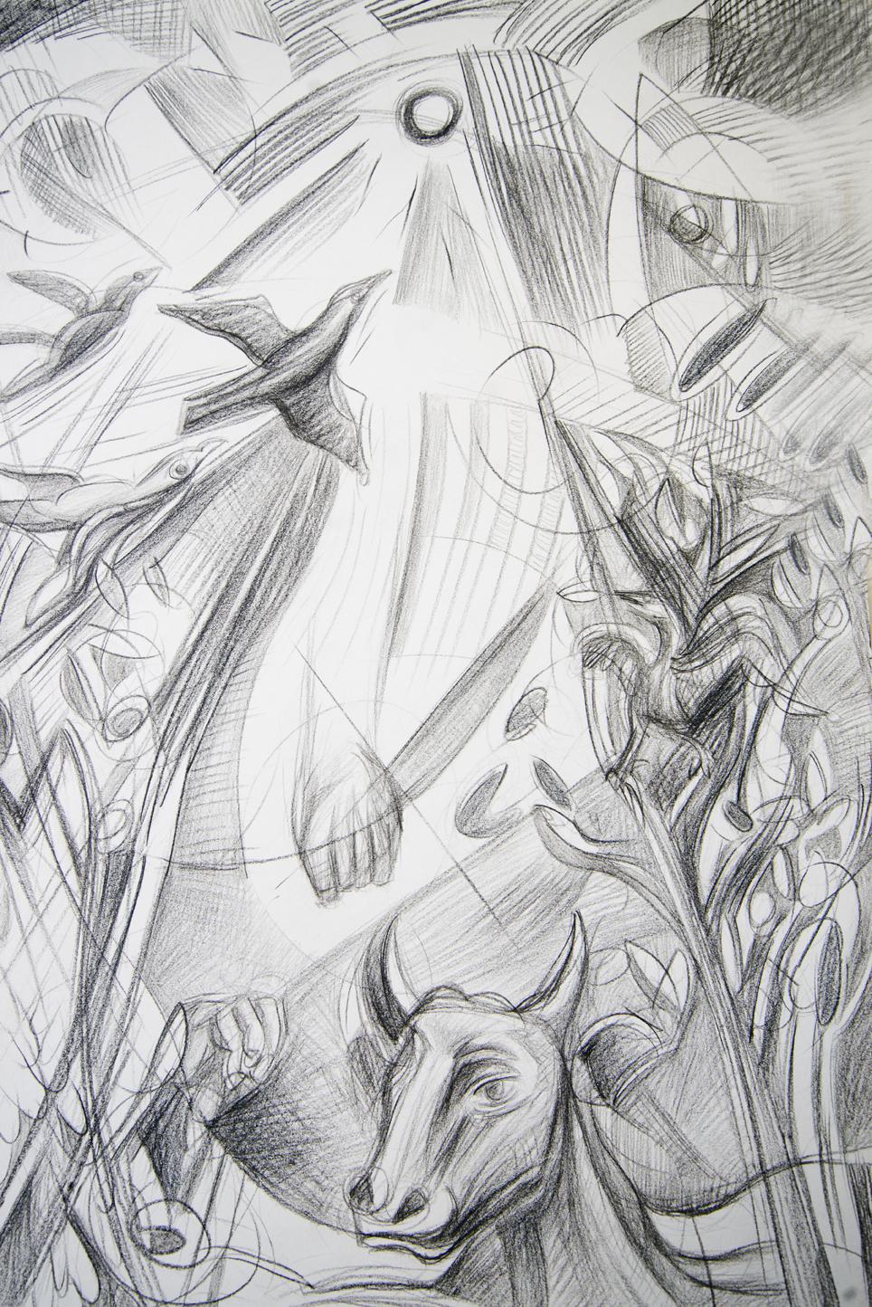 Dedalus and Minotaurus Study 6, 2015