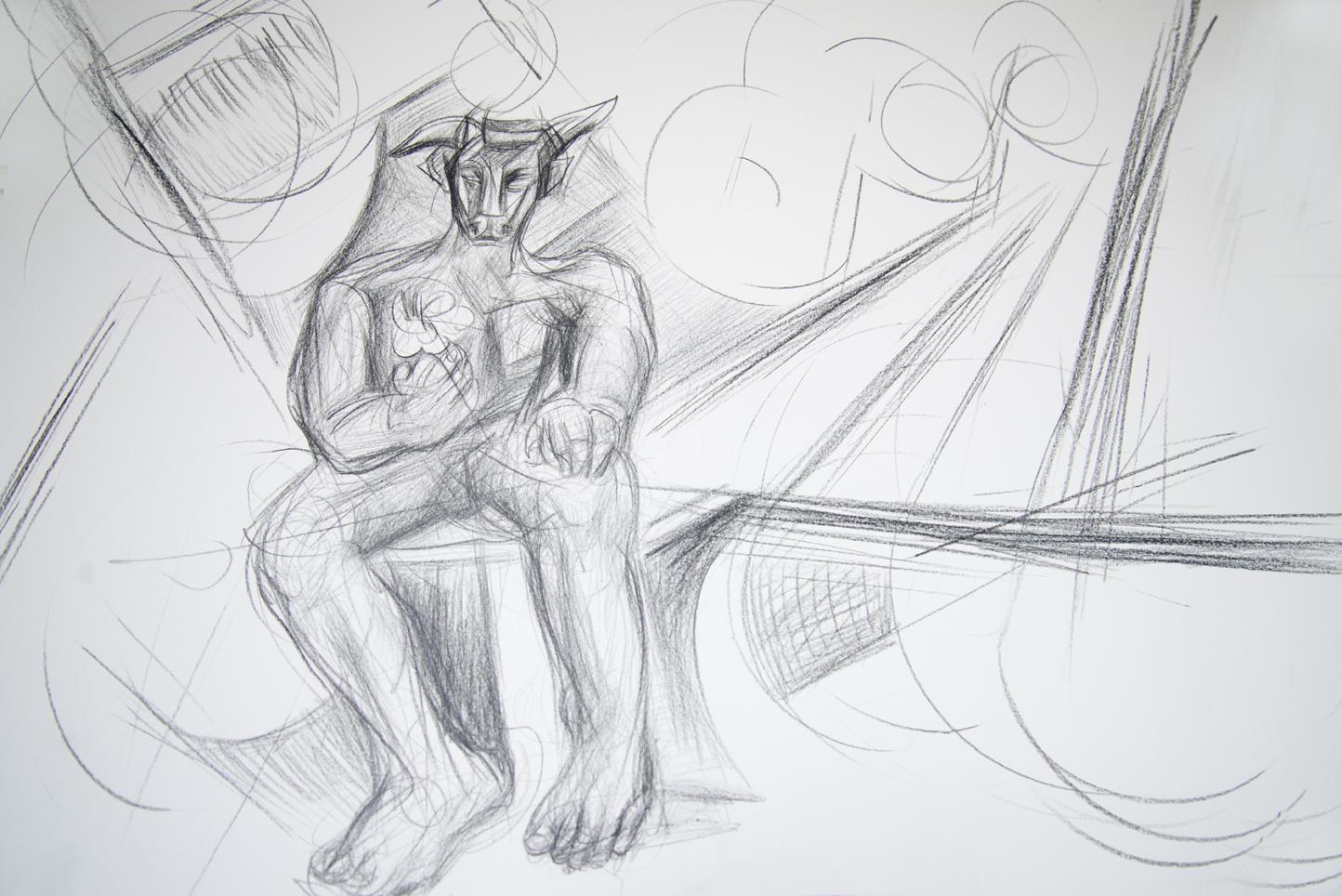 Dedalus and Minotaurus Study 3, 2015