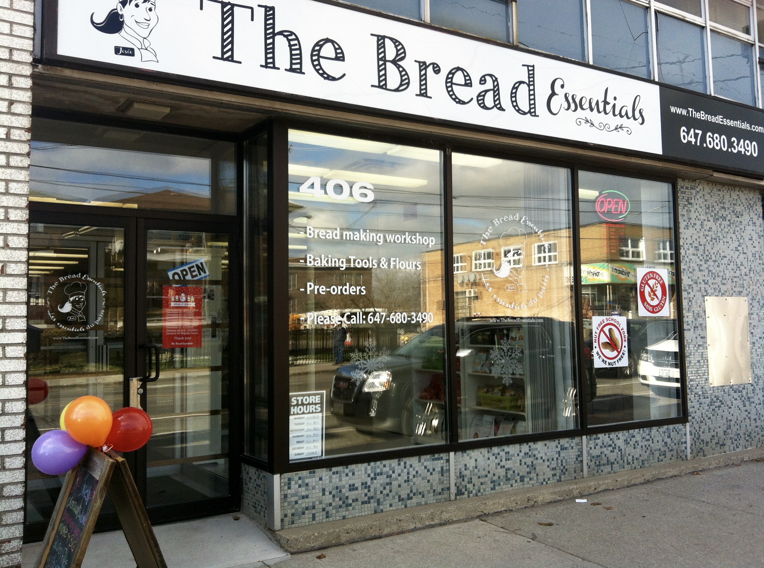 Find us at The Bread Essentials