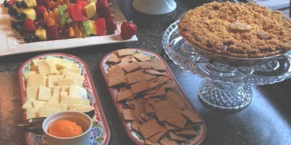 Desserts on the Deck