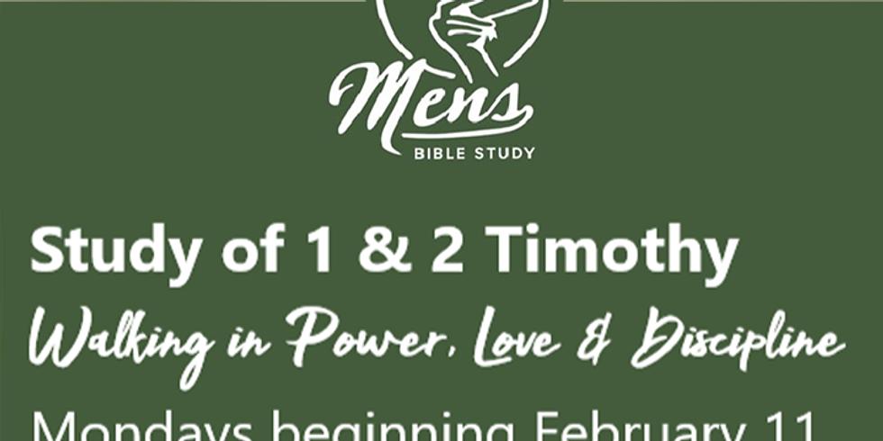 Men's Bible Study: 1 & 2 Timothy