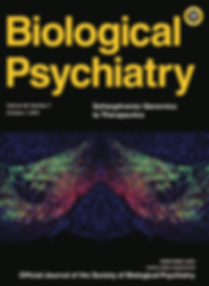 2019 Biol Psychiatry cover_Issue 86-7_Pa