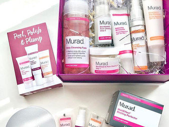 Get Poreless and Bright Skin with in 5 Steps with Murad Skincare