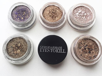 Get Eyes to Kill with Giorgio Armani Sik Eyeshadows