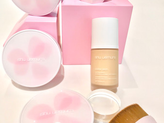 Shu Uemura Petal Skin Foundation and Cushion