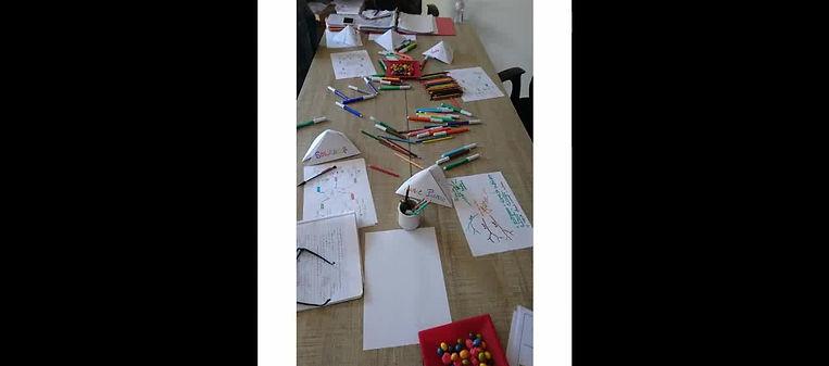 Atelier parents enfants mind mapping