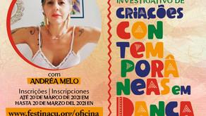Festinaçu abre inscrição para Oficina de dança on-line