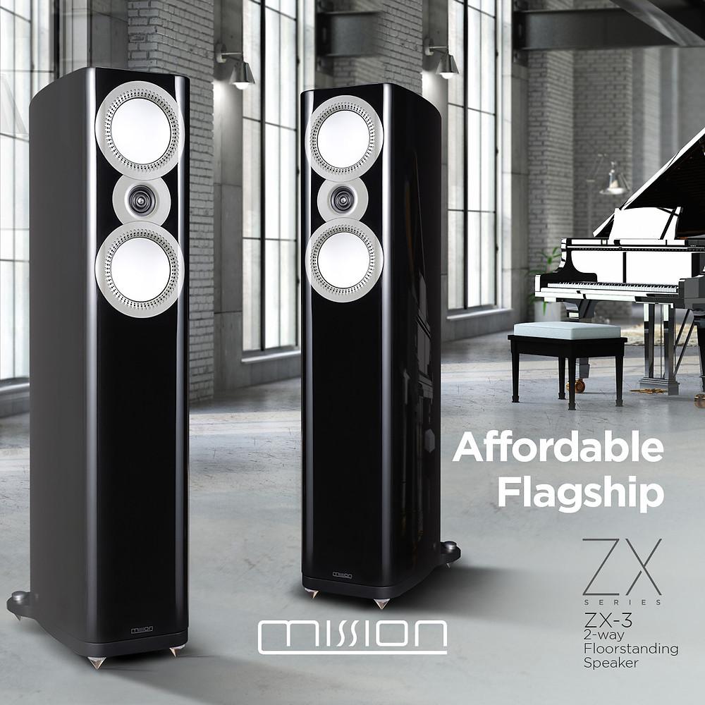 英國 Mission 隆重發表 Mission ZX 高階 Hi-Fi 喇叭系列