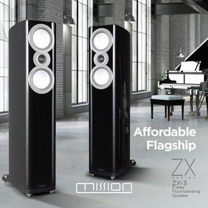 POMA 發表 Mission ZX 高階 Hi-Fi 喇叭系列