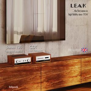 英國 LEAK - 1934年音響傳奇重現  全新產品 STEREO 130 及 CDT 隆重登場