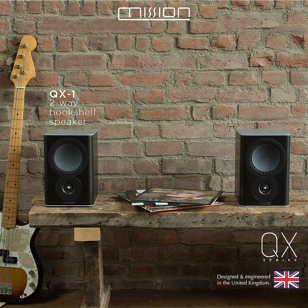 音樂感動人之選 Mission QX-1