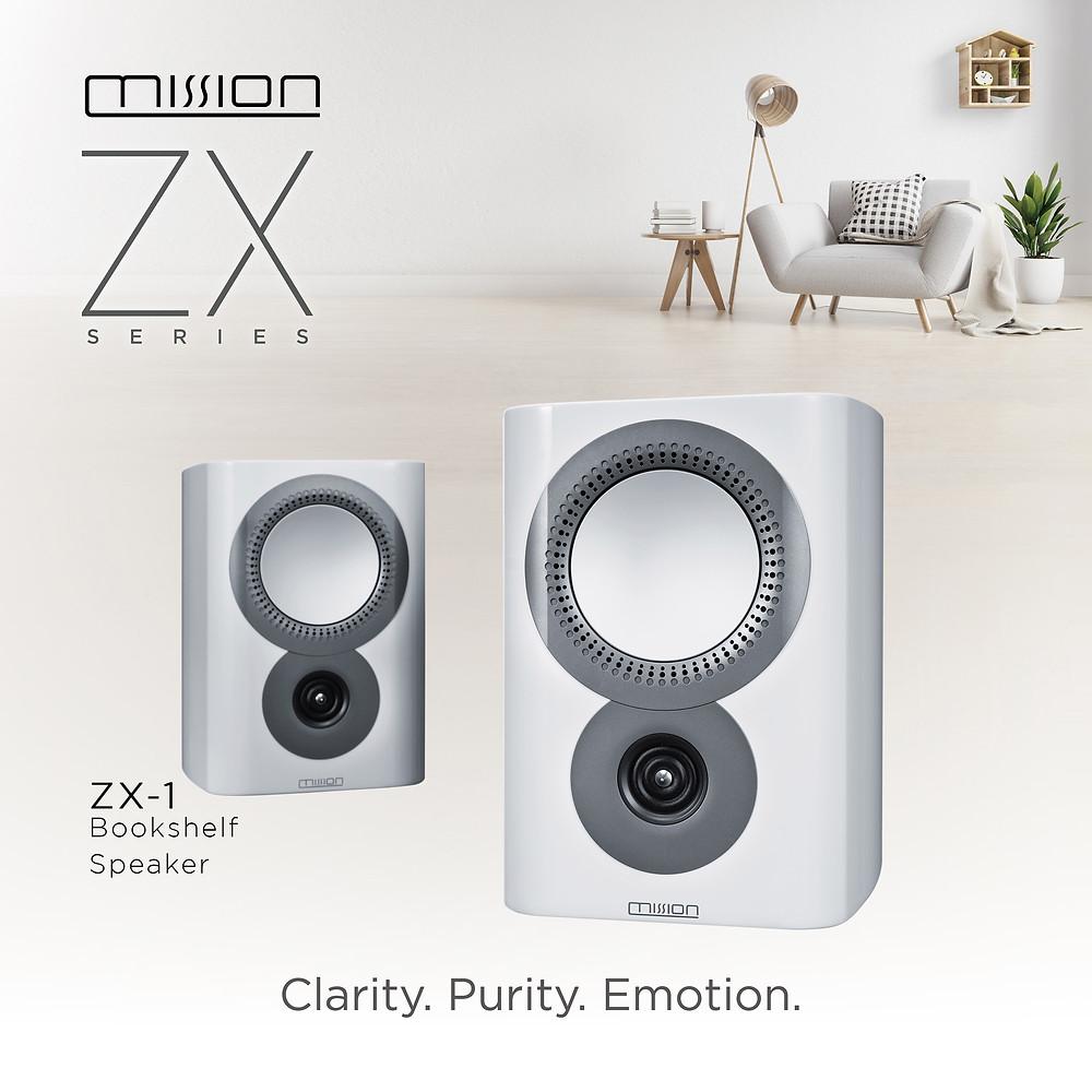 濃厚飽滿音樂感 Mission ZX-1