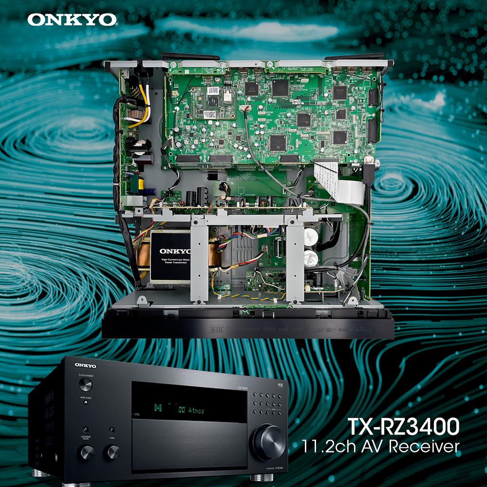 THX Ultra x IMAX Enhanced x ROON Test 三大認證 | Onkyo TX-RZ3400 | 非凡音色 觸動心靈 | 旗艦網絡 AV 擴音機