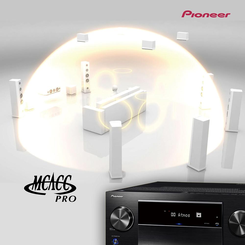 Pioneer MCACC Pro 專業級自動多聲道校正 設定教學 | Pioneer SC-LX904 | SC-LX704 | 快狠準