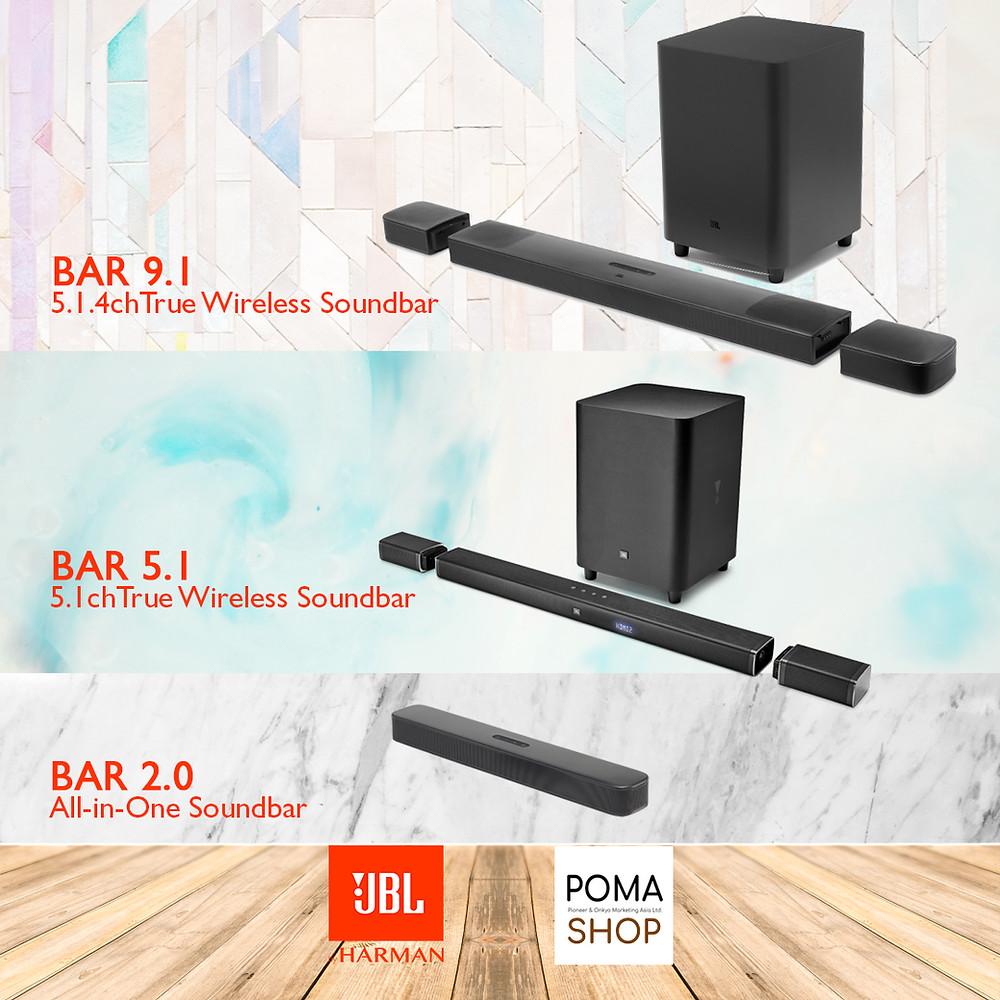 JBL BAR 9.1 5.1 2.0 Soundbar