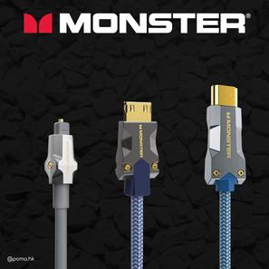 齊備最新 8K HDMI 功能 Monster怪獸線 M3000 HDMI 8K 線