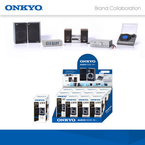 Onkyo Audio Miniature Collection 微型音響收藏品 正式登場!