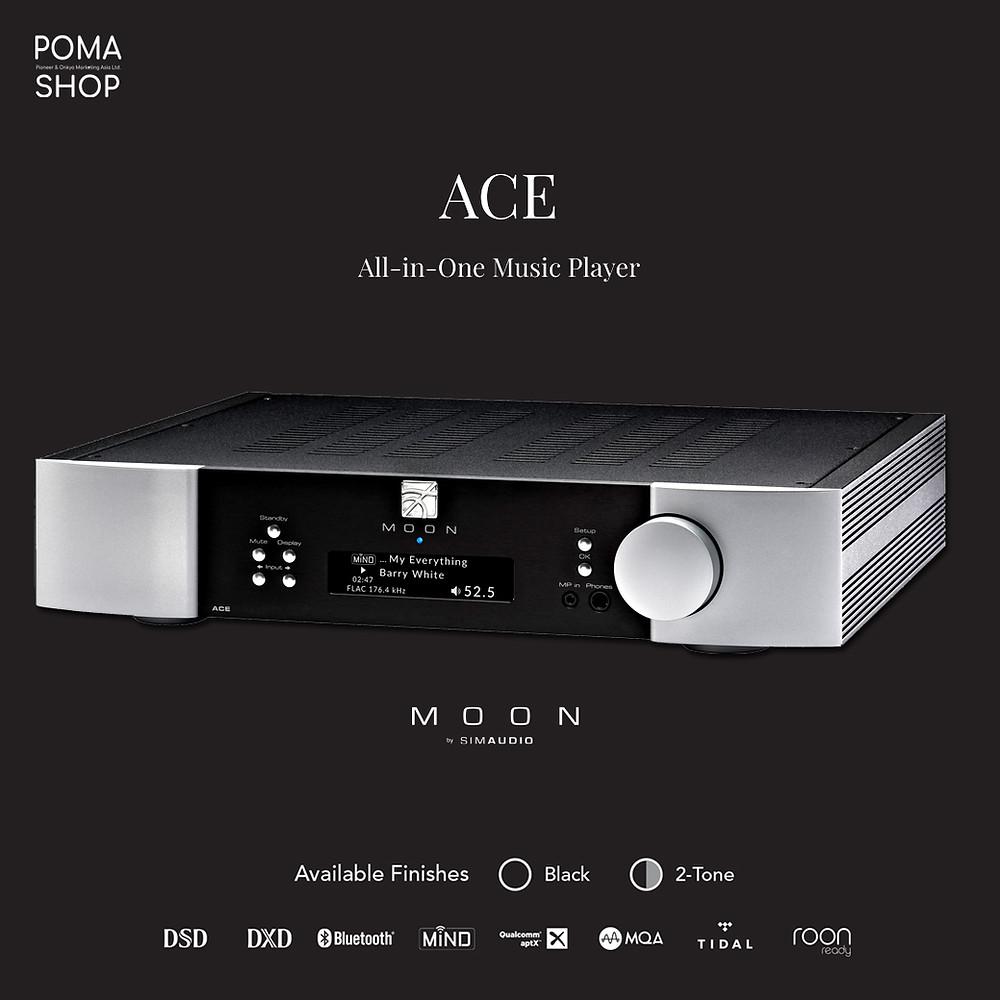SIMAUDIO MOON NEO ACE (MiND 2 Edition) 網絡串流擴音機 | 全能易用一體化網絡音響 | 加拿大製造 | POMA 陳列室預約試聽